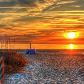 Reid Callaway - Endless Summer Lifeguard Stand Tybee Island Georgia Art