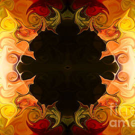 Omaste Witkowski - Energy Attractions  Abstract Organic Bliss Artwork