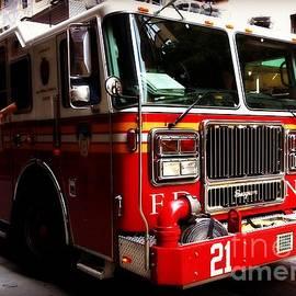 Miriam Danar - Engine 21 - New York City Fire Engine