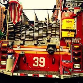 Miriam Danar - Engine 39 - New York City Fire Truck