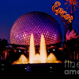 Tommy Anderson - Epcot at night