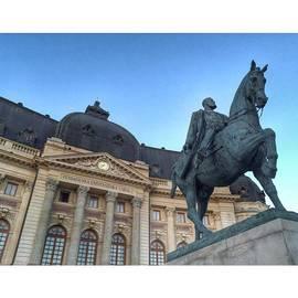 Adriano La Naia - Equestrian Monument Of King Carol The