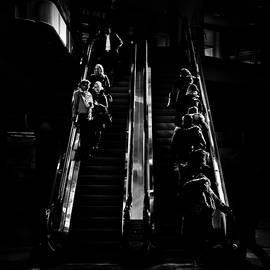 Brian Carson - Escalator No 1