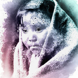 Georgiana Romanovna - Eskimo Child Portrait