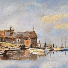 Stephen David Rathburn - Essex Boat Yard Seago