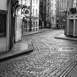 Bill Cannon - Essex Street Dublin Ireland in Black and White
