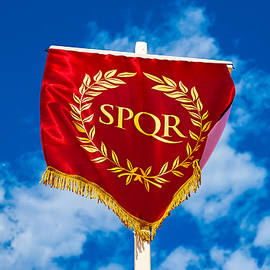 Alexander Senin - Eternity. Roman SPQR vexillum
