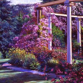 David Lloyd Glover - Evening At The Elegant Garden