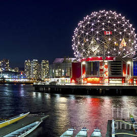 Maria Janicki - Evening by Science World Vancouver