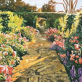David Lloyd Glover - Evening Garden Sussex England