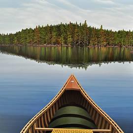 Kenneth M  Kirsch - Evening Paddle II