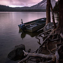 Evening Rain at Lake Mary - Cat Connor