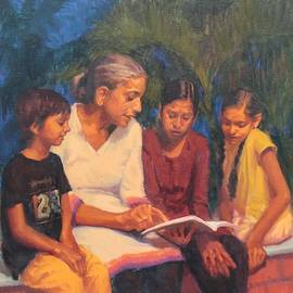 Snehal Page - Evening Study