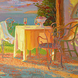 Evening Terrace - William Ireland