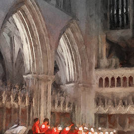 Menega Sabidussi - Evensong Practice at Wells Cathedral