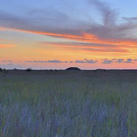 Stephen  Vecchiotti - Everglades Sunset Panorama