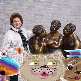 Iris Gelbart - Everyone visits Old Montreal