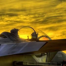 JC Findley - F-15E Sunset