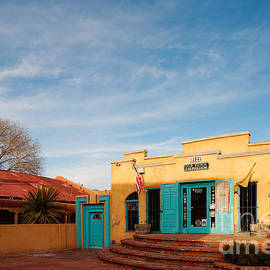 Silvio Ligutti - Facade of a Souvenir Store at Old Town Albuquerque - New Mexico