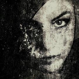 Marian Voicu - Face In A Dream grayscale