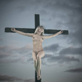 Ramon Martinez - Faded female crucifix