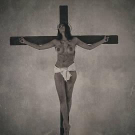 Ramon Martinez - Faded old female crucifix