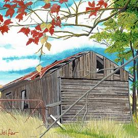 David Wolfer - Fall Barn