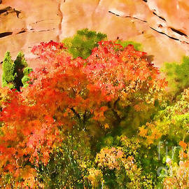 Steven Parker - Fall Colors At Red Rocks