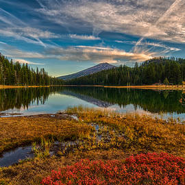 Fall colors at Todd Lake 9-23-15 - Exquisite Oregon