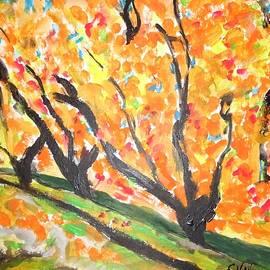 Esther Newman-Cohen - Fall Foliage