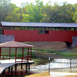 Kathy  White - Falling for the Red Covered Bridge
