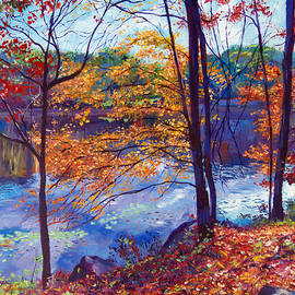 David Lloyd Glover - Falling Leaves