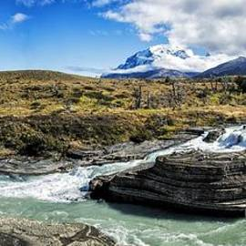 Timothy Hacker - Falls In Patagonia Chile
