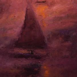 R W Goetting - Falucca at dusk