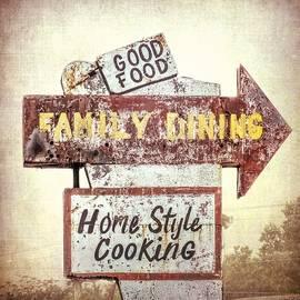 Melissa Bittinger - Family Dining Vintage Roadside Restaurant Signage