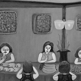 Lorna Maza - Family Dinner BW