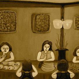 Lorna Maza - Family Dinner Sepia