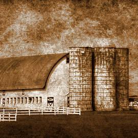 Geraldine Scull   - Farm and silo of West Jersey