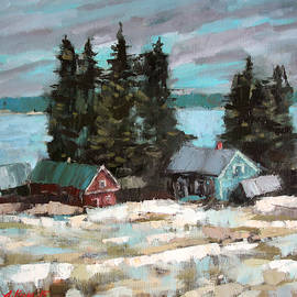 Alena Kogan - Farm by the Lake