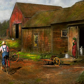 Mike Savad - Farm - Life on the farm 1940s