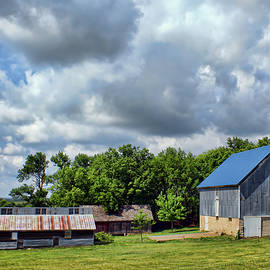 Nikolyn McDonald - Farm Scene - Barns - Nebraska
