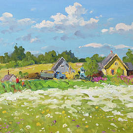 Alexander Alexandrovsky - Farm. Summer day