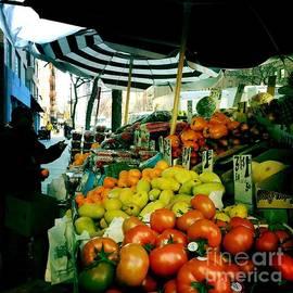 Miriam Danar - Farmers Market with Umbrellas