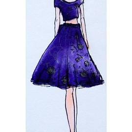 Florence Lee - Fashion illustration