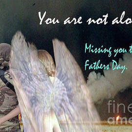 Broken Soldier - Fathers Day Card for a Warrior