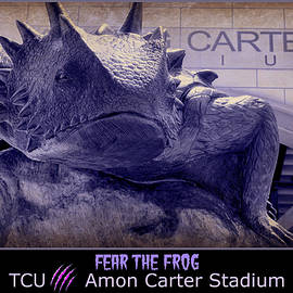 Stephen Stookey - Fear The Frog - TCU Poster