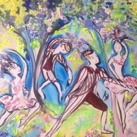 Judith Desrosiers - Feathered friends  ballet