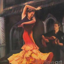 Farideh Haghshenas - Felamenco Dancer