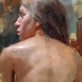 Female Back Study - Anna Rose Bain