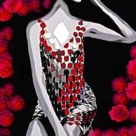 Saundra Myles - Femme Fatale Luna More Beautiful Than A Rose c 1960